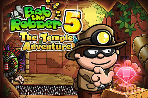 Play Bob The Robber 5: Temple Adventure In Full Screen