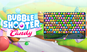 Play Bubble Shooter Candy In Full Screen