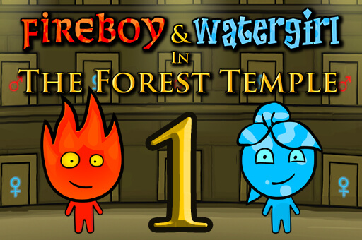 Fireboy and Watergirl 1: Forest Temple - The Best Game Site