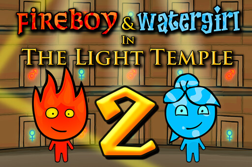 Fireboy and Watergirl 2: Light Temple - The Best Game Site