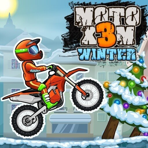 Moto X3M 4: Winter - The Best Game Site